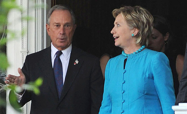 Bloomberg, Clinton