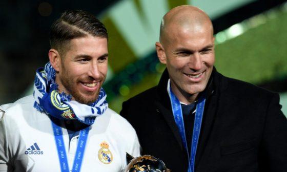 Zinedine Zidane, Sergio Ramos