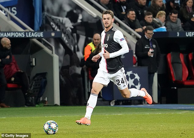 Juventus reveal defender Daniele Rugani has tested POSITIVE for coronavirus