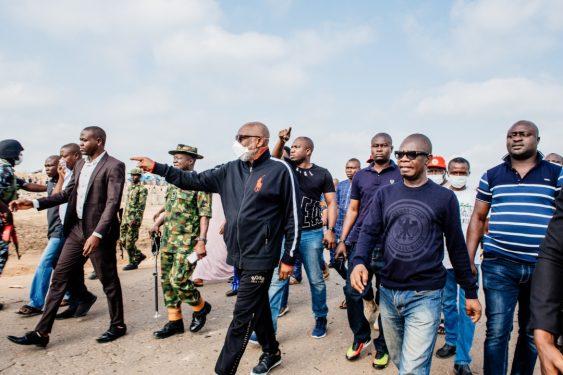 More videos, photos from Akure explosion, Akeredolu visits scene
