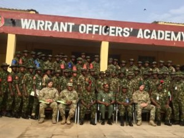 Nigerian army begins training engagement with Californian National Guards