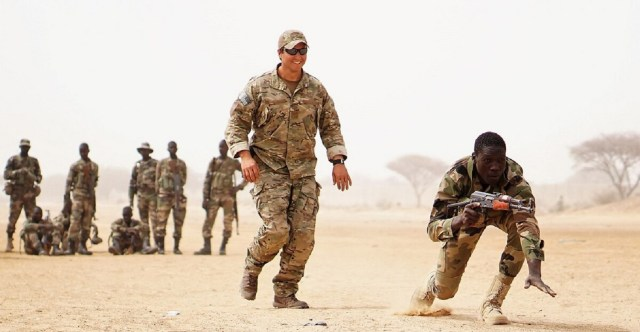 US military and Nigerian military