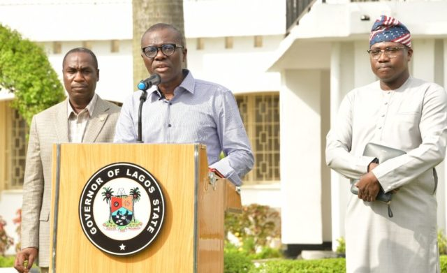 COVID-19: Sanwo-Olu sets up food markets in schools to curb panic buying