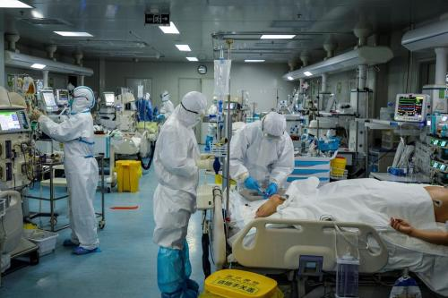 Covid-19: Israeli hospital lets families bid farewell to dying patients