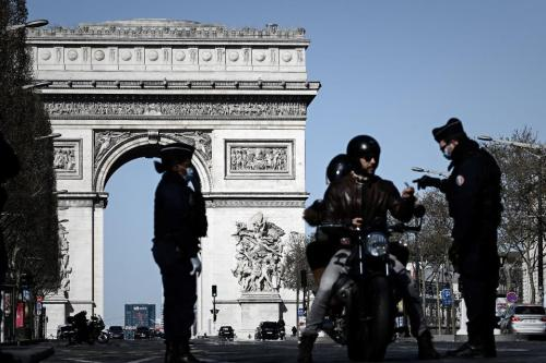 French crime reports sharply down after virus lockdown