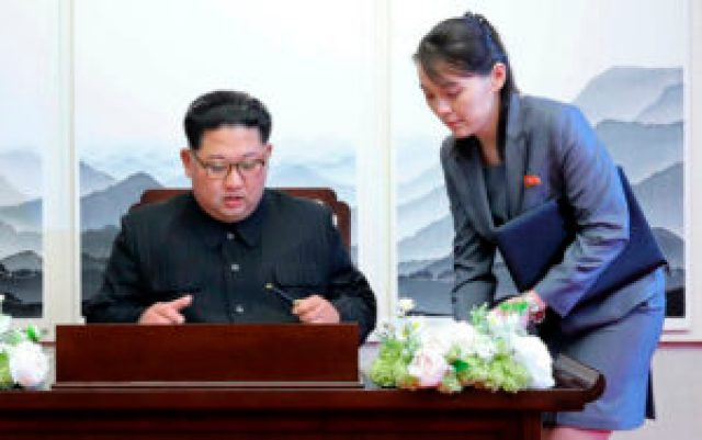 North Korea's Kim changes party title to assume late father's mantle