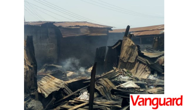 Land dispute: Rival groups set community on fire in Lagos