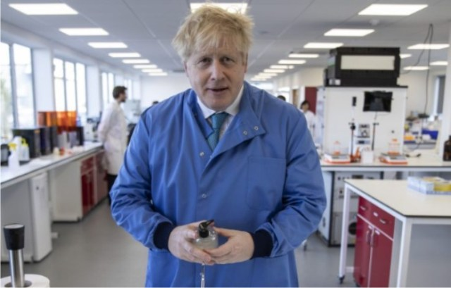 Boris Johnson in isolation again after contact with infected lawmaker