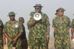 INSECURITY: Chief of Army Staff charges special forces, says no excuse for failure