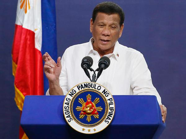Philippines' Duterte to launch investigation on government corruption