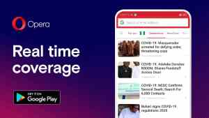 Opera provides access to official information about COVID-19 though its mobile browsers for 120 million of users in Africa