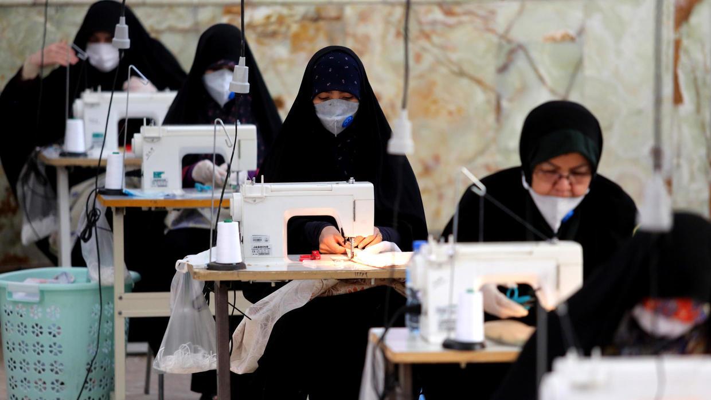 COVID-19: Iran converts Mosque into mask factory - Vanguard News