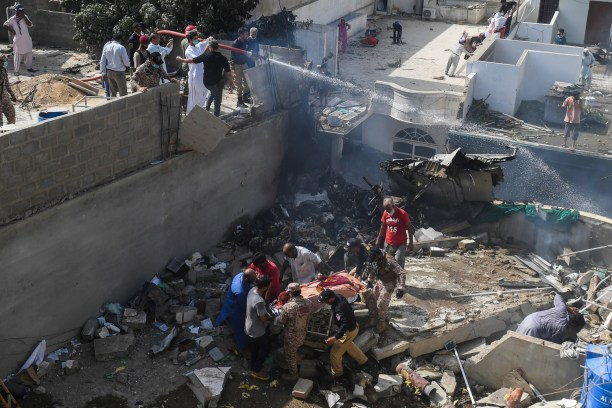 41 bodies recovered, dozens more feared dead in Pakistan plane crash