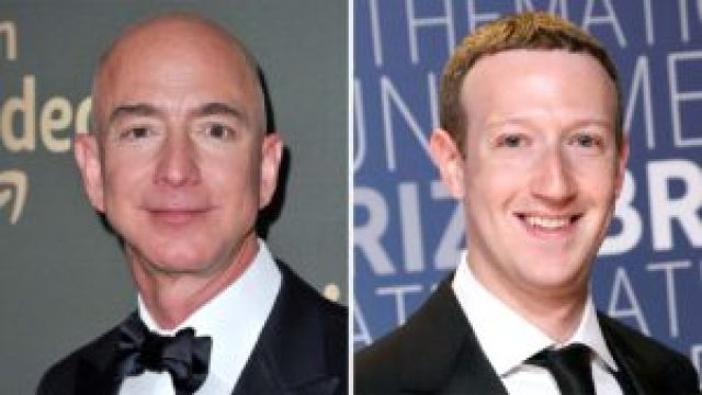 Facebook, Amazon chiefs see wealth balloon amid pandemic