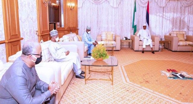 COVID-19: Buhari, PTF meet in Abuja