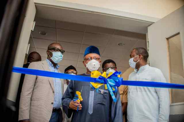 FG commends Obaseki on COVID-19 response, as Edo inaugurates 300-bed isolation centre, molecular lab