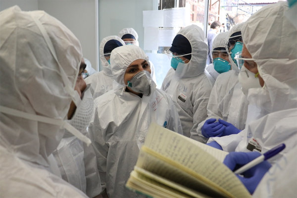 Report says 11% of German coronavirus cases are medical workers