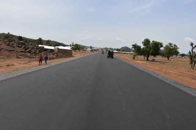 85yrs old grandmother expresses joy over road construction in Bauchi, begs to meet governor
