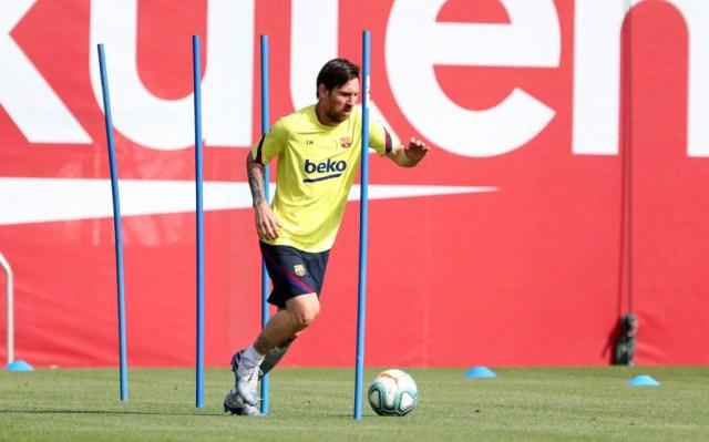 Barcelona play down Messi injury claims ahead LaLiga return