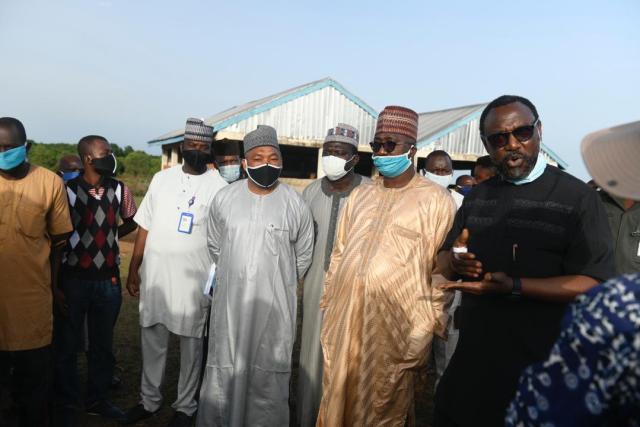 Photos: Gov Sani Bello inspects Tagwai Dam road