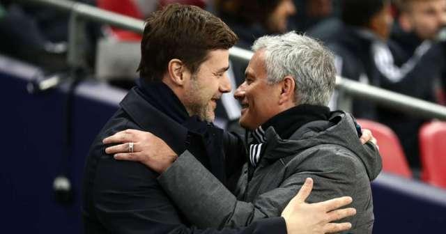 Pochettino happy Mourinho replaced him at Tottenham
