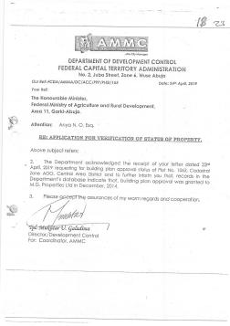 Documents show FEC approved controversial N7bn Agric Ministry building