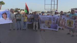 Libyans stage protest against Turkish interferance