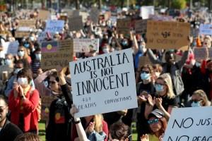 Australia Protest: Thousands attend Black Lives Matter protests
