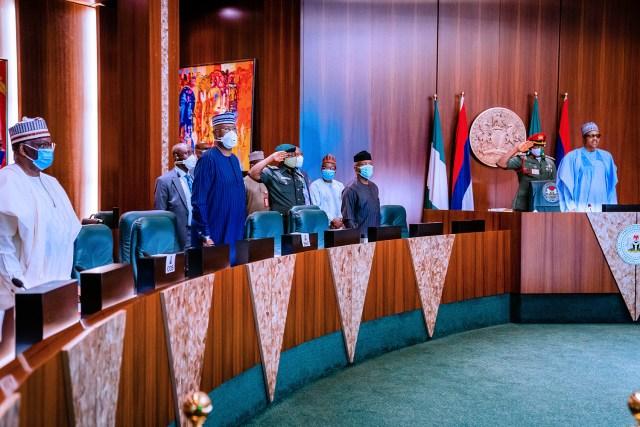 PHOTOS: Buhari presides over fourth virtual FEC meeting