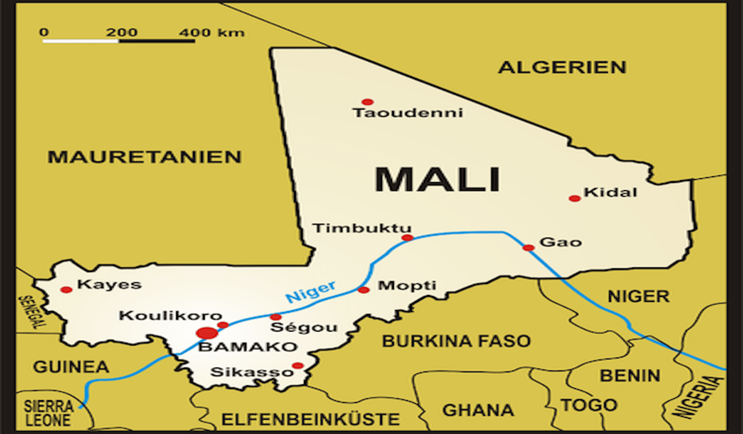 Protesters loot office of Mali president's political party