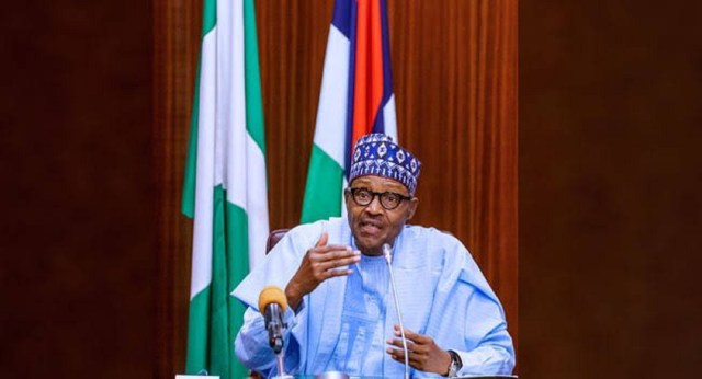 President Buhari flags-off AKK gas pipeline construction