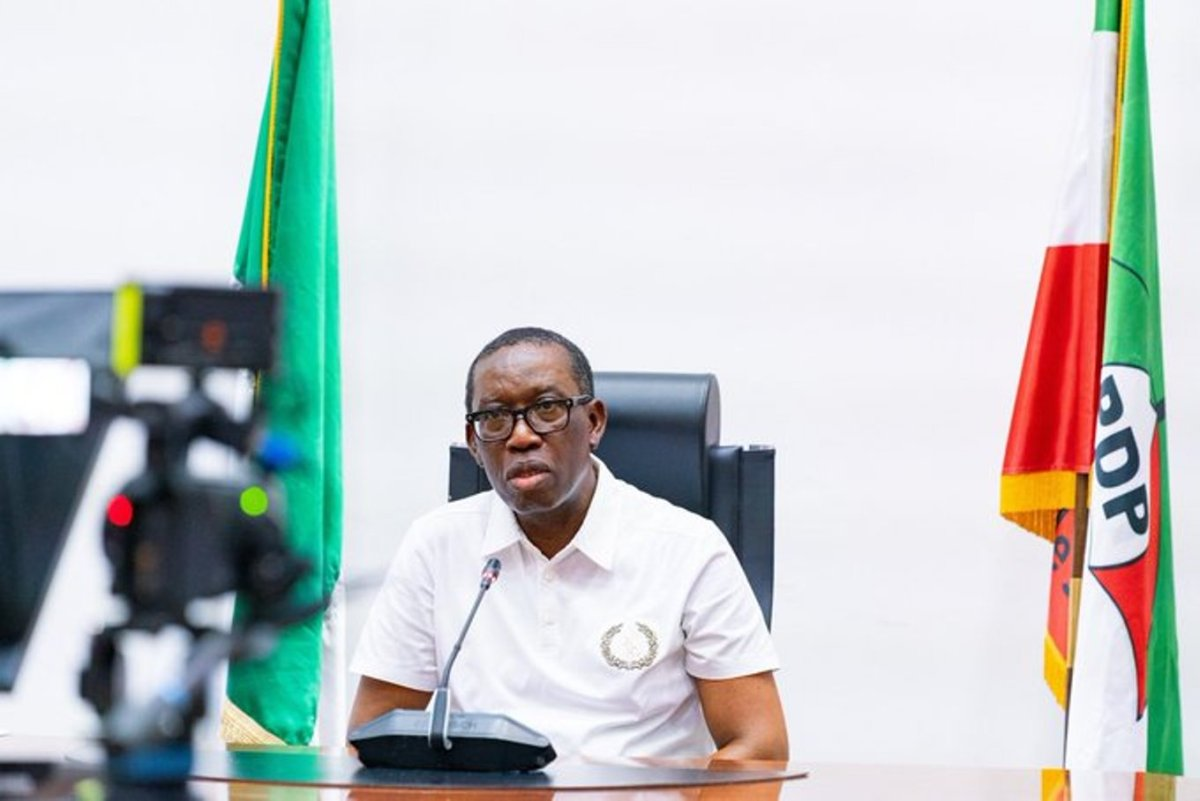 DELTA: Okowa swears in 12 new Permanent Secretary, LG Auditor-General