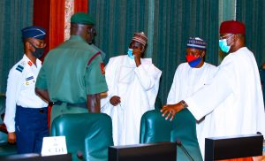 Buhari, Security Council