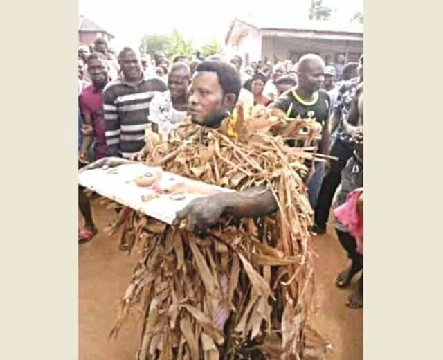 Popular Prophet caught burying charms at house in Cross River