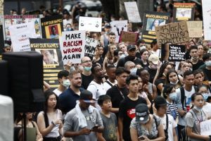 Taiwan Black Lives Matter protest gets indigenous twist