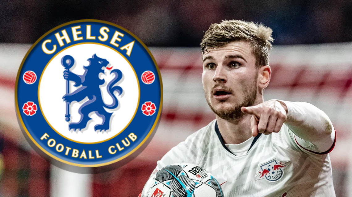 Lampard explains how Chelsea convinced Timo Werner into signing for them
