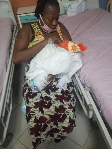 Victim of Lagos pipeline explosion put to bed at LASEMA's IDP camp