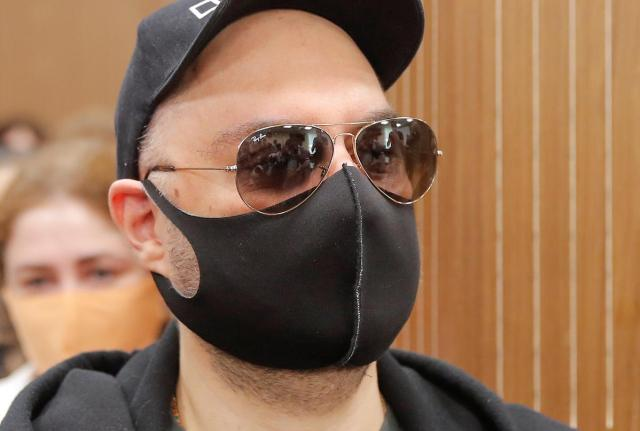 Russian film director who mocked state, church gets suspended sentence
