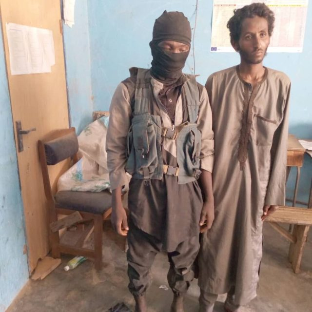Military Airstrikes arrest two foreign armed bandits in Niger