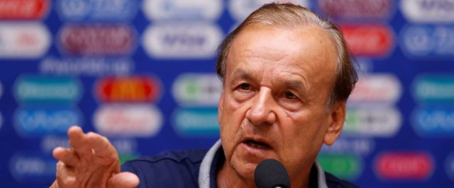 Sack Rohr now, Aiyegbeni urges NFF