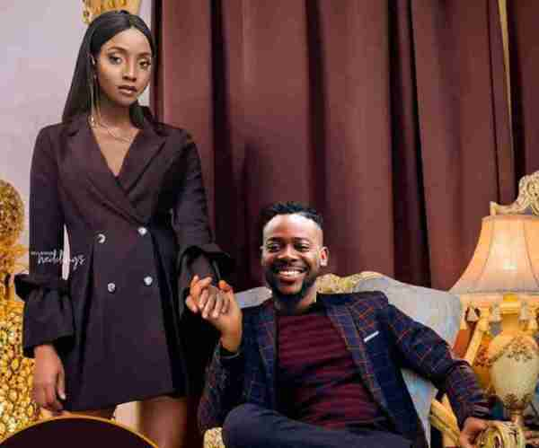 Never before seen photos of Adekunle Gold, Simi's wedding
