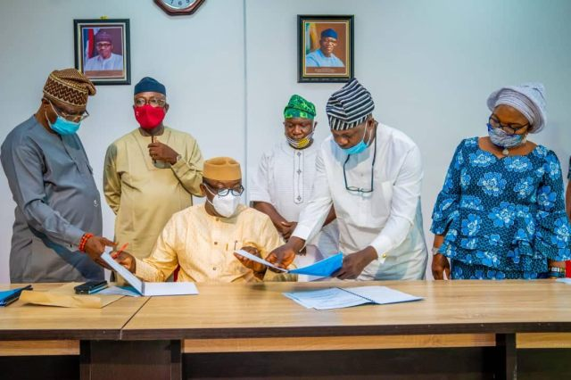Fayemi signs N91.1bn supplementary budget in response to COVID-19 pandemic