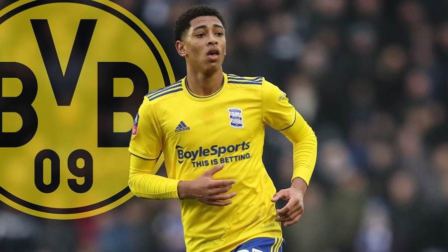 Dortmund beat Manchester United to sign Birmingham's Jude Bellingham