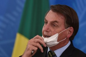 Brazilian President tested for coronavirus after showing symptoms