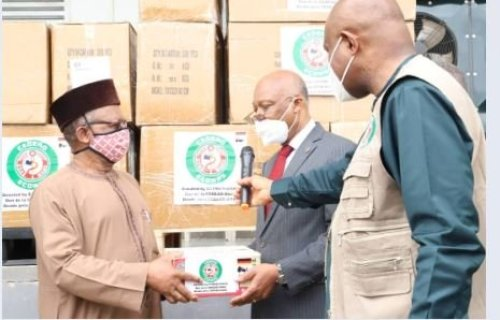 FG receives critical medical equipment donated by ECOWAS, WAHO