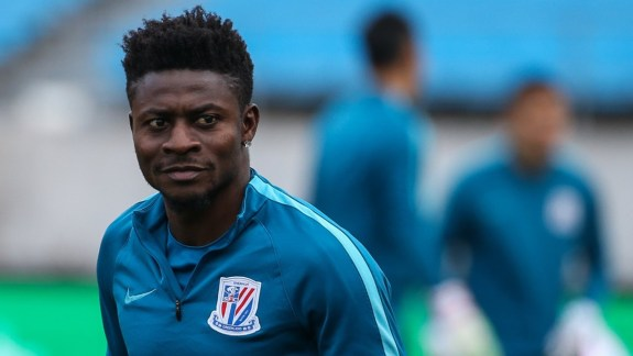 Obafemi Martins, 35, rejoins Chinese club, Shanghai