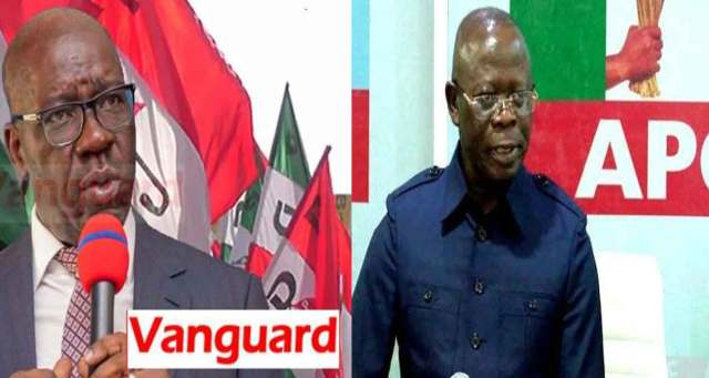 Obaseki: Oshiomhole kneeling to beg for forgivenesss amusing ― PDP