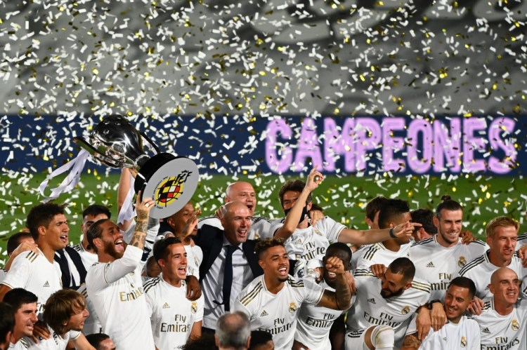 Breaking News   Breaking: Real Madrid wins 34th La Liga title
