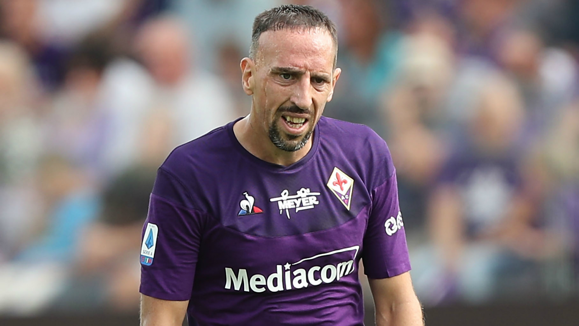 Burglary victim Franck Ribery raises doubts over Italy future
