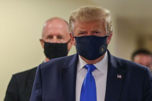 TrumpTrump improving, not on oxygen and is fever free, doctor says